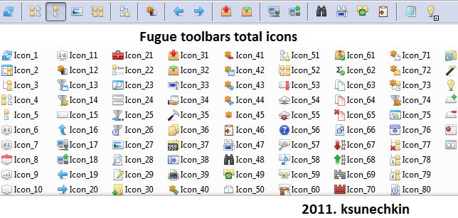 Total7 Fugue icons (Toolbars & Menus)