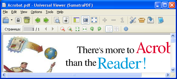 Sumatra PDF based plugin